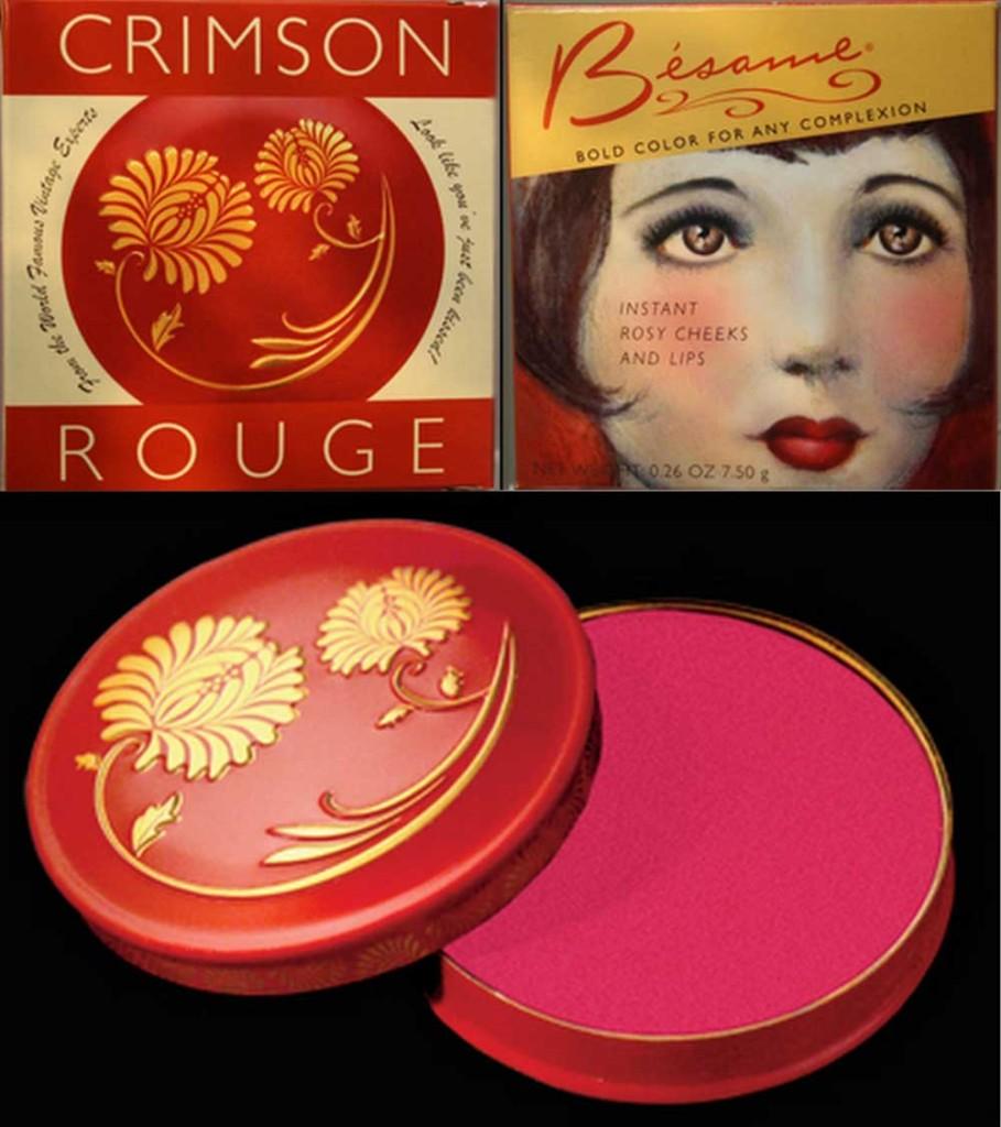 Besame Cosmetics Crimson Cream Rouge reviews, photos
